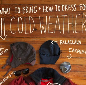 How to dress for cold weather backpacking