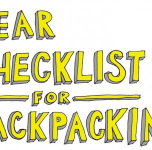Your Ultimate Gear Checklist for Backpacking. Don't forget the UNO deck.