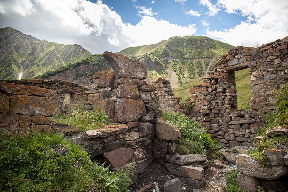 Ruins in Tusheti