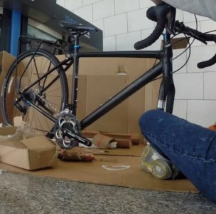 How to box your bike for an international cycling trip, Lisbon, Portugal, Europe