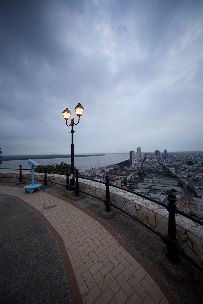 Guayaquil at the top of Las Peñas