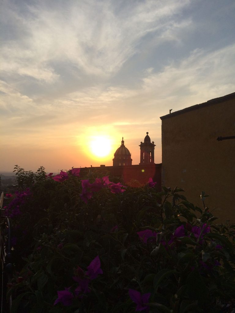 Rooftop in San Miguel de Allende