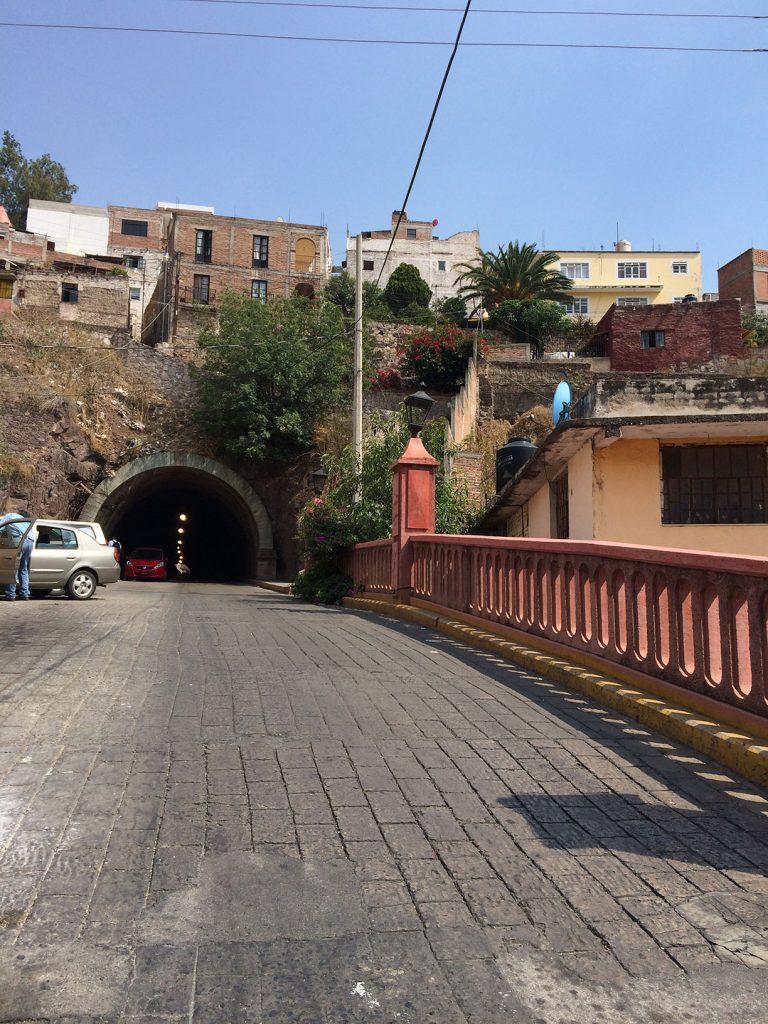 the tunnels in Guanajuato