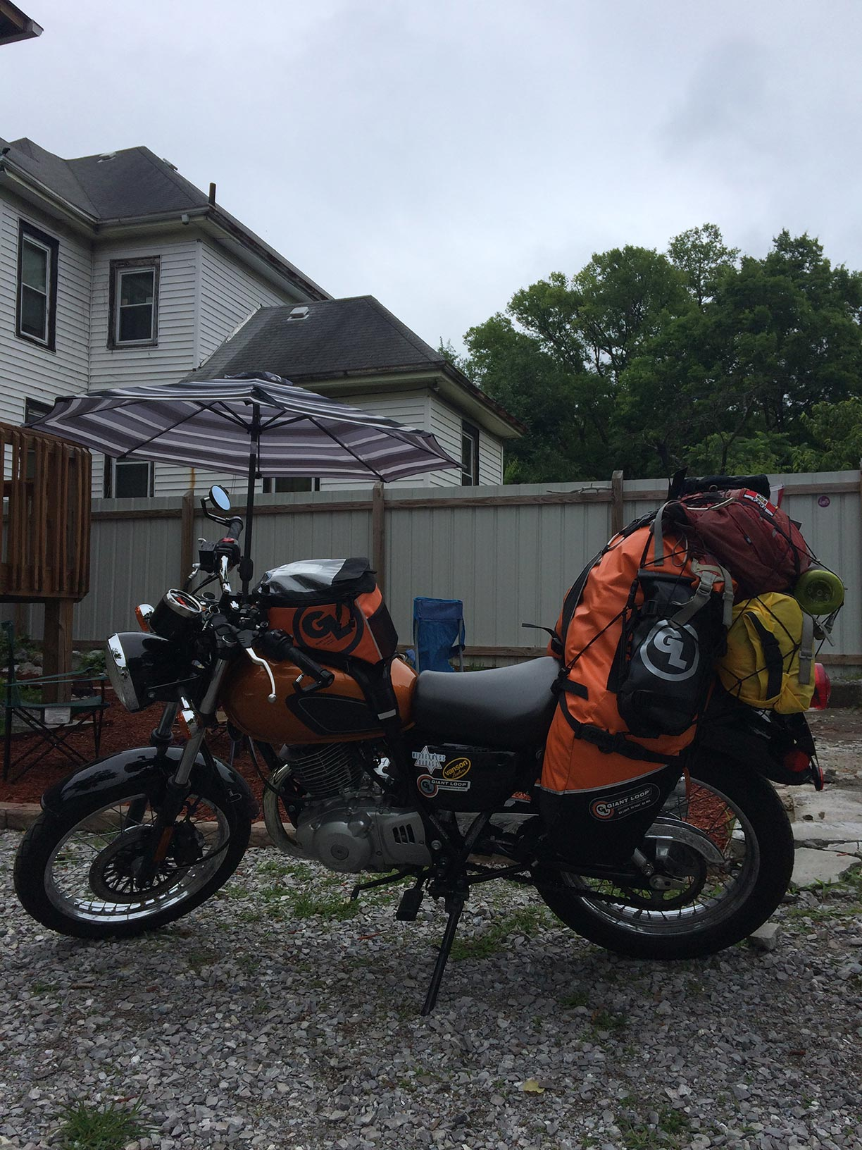 On the Road South— from Rainy DC to Bayou Sunshine