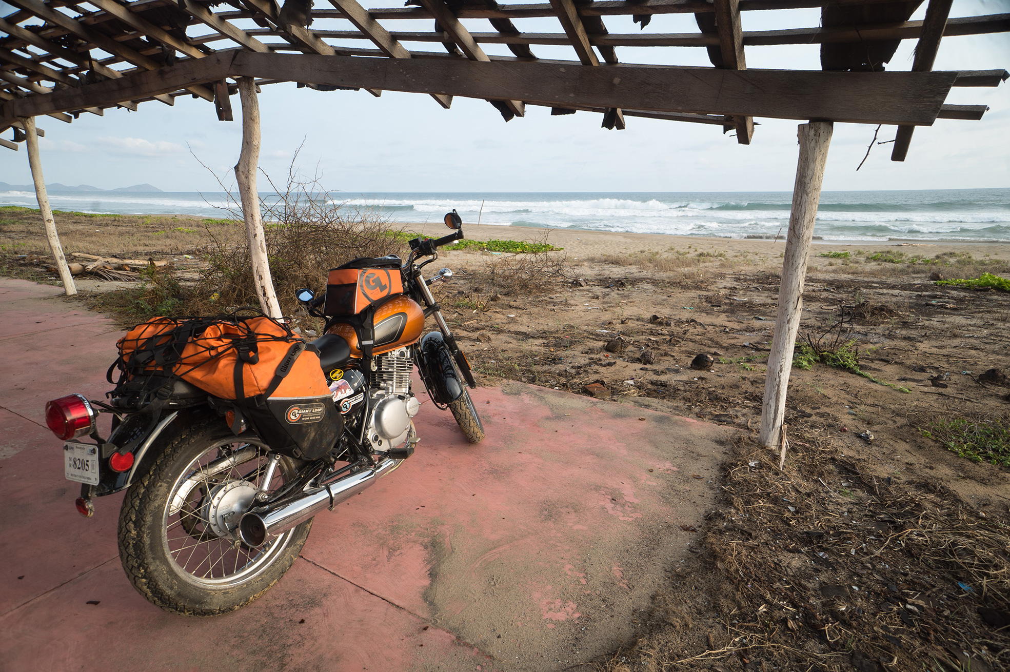 Of Motorcycles, Police, Wild Camping, and Cockroaches